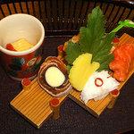 日本料理 花城 - ここから下は天ぷらセット¥5.000円です。