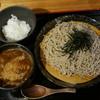 田舎亭 - 料理写真:鳥玉つけそば(810円)