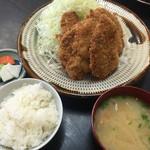 とんかつ亭ひさやま - ヒレカツ定食 1,280円
