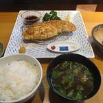 おかめ食堂 - ロースかつ(焼き)1,680円