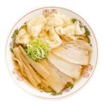 生姜醤油ワンタン麺