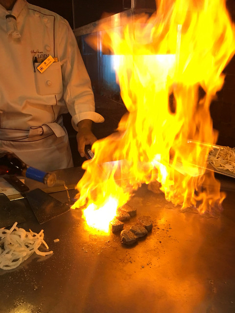 ロイン - ブランデーで炎