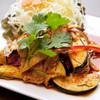 茄子と豚肉の甘辛サラダ~パームーマクア~