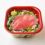 北海丼丸 - サバマグロ丼!脂ののったシメサバと赤身の王様マグロのうれしい組み合わせ!