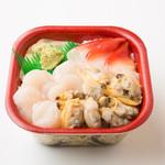 北海丼丸 - 貝づくし丼!北寄、帆立、あさりののった貝好きの為の丼です!