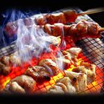 産地直送 お魚とお野菜 海畑 - 焼き鳥は大山地鶏を使用!