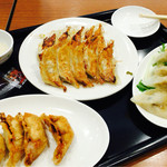 石松餃子 - 満喫セット