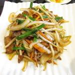 中華料理 旭園 - レバー炒め