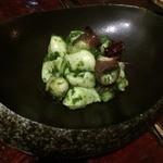 やまや - 創作和イタリアン:真蛸のジェノベーゼ合え、美味しかったです
