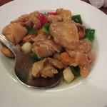 鵬天閣 - 鶏肉のカシューナッツ炒め