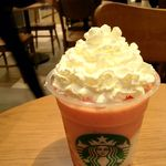スターバックス・コーヒー - 苺果肉がゴロゴロ♪