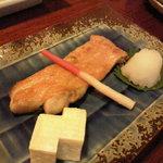 喜久味 - 金目鯛塩焼き