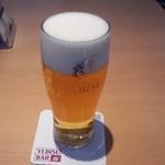 51341190 - ヱビスビール(545円)昼からの一杯はたまりません