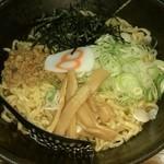 8番らーめん - 唐麺(紅しょうが抜き)