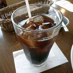 レモンハウス - +50円のセットのアイスコーヒー