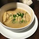 ギョーザマルシェ - 鶏白湯炊き餃子(俵ご飯付き)