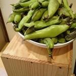 ベルドゥーラ - 幻の地場野菜富松一寸豆(ソラマメ)