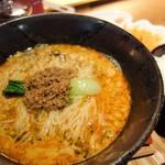 担々麺 錦城 - 担々麺スープ茶漬けセット