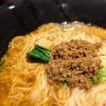 担々麺 錦城 - 坦々麺(担々麺スープ茶漬けセット)