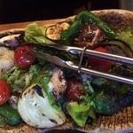 とさか - 焼き野菜サラダ