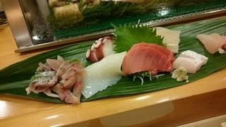 菊寿司 - 刺身の図
