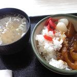 5135762 - 味噌汁とカレー
