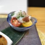四季ごはん 晴れ間。 - 蛸と夏野菜のマリネ