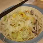 松屋 - サラダはフレンチ&カルビソースで・・・