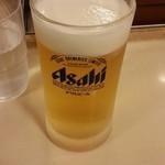 松屋 - 生ビール150円