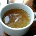 鉄板餃子酒場 ちびすけバル - スープ