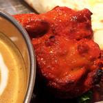 ダウラギリ - 鶏肉美味しいですよ! \(^_^)/