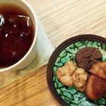 お菓子と喫茶 Dodo - 焼き菓子・三種小皿盛 200円