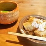 柳茶屋 - わらび餅&うす茶