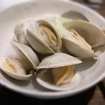 aguriguddomu-n - 蛤の酒蒸し♪大きくて美味しいですよ!d(^-^)