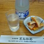 とんかめ - 2016/05/23 12:20訪問 冷酒¥650