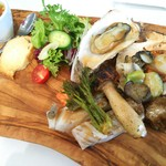 Bistrante&Bento KOTTA - 料理写真:魚介のミックスグリル