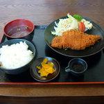 骨付鳥 じゅじゅ庵 - 骨付鳥 じゅじゅ庵(チキンフライ定食)