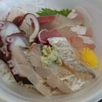福良マルシェ - セルフ海鮮丼~♪