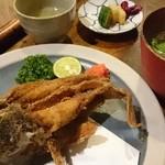 51361060 - カサゴ揚げ(ちと恐い!)