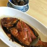 海鮮料理 みはる - 2016.5.22 金目鯛の煮付け
