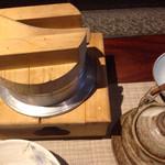 楽膳柿沼 - 釜飯と土瓶蒸し