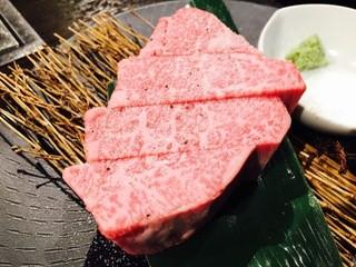 俺の焼肉 銀座9丁目 - お肉の王様☆ 俺のシャトーブリアン 150g 特価3,980円