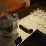 懐石茶や 水音 - 朝 レセプション
