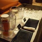 懐石茶や 水音 - 夜 レセプション