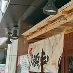 Yokohamaramenouka - お店の看板