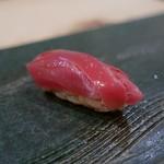 二條 葵月 - まぐろ(赤酢)