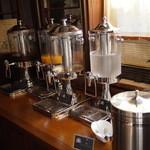 懐石茶や 水音 - フリードリンク