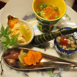 懐石茶や 水音 - 料理写真:夕食 水音
