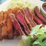 お肉料理・お魚料理、タコスなどのいろいろランチ