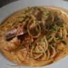フィレンツェ - 料理写真:エビのクリームトマトソース